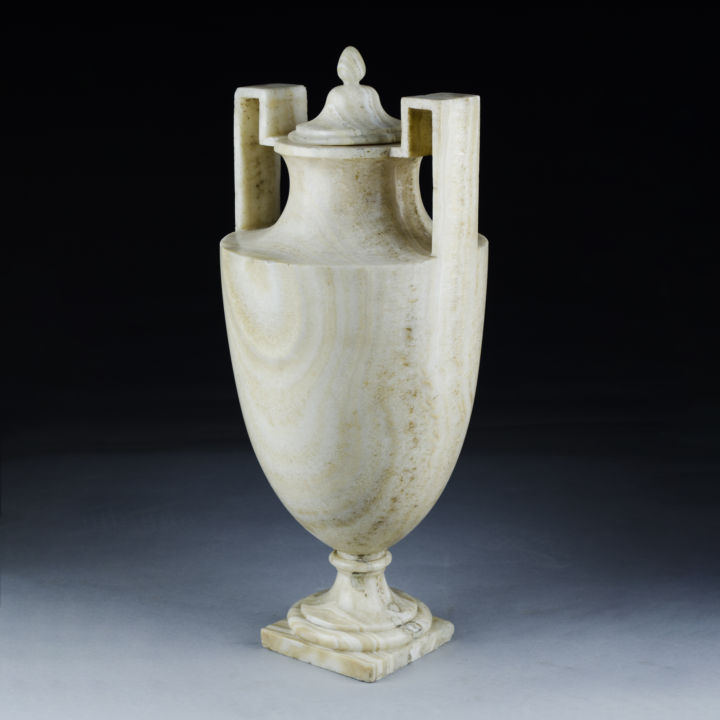 Italian Neo Classical Alabaster Vase Robin Martin Antiques