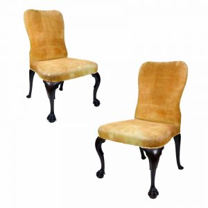 Irish George II Side Chairs Pair