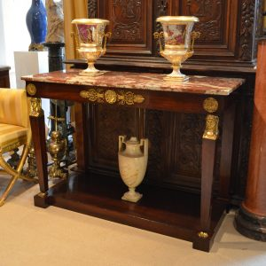 French Empire Console Table 1