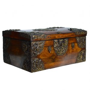 French Olivewood Coffer