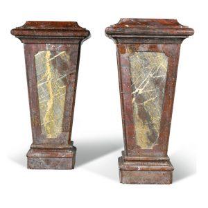 French Griotte Pedestals