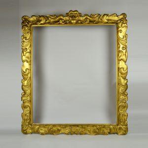 Charles I auricular frame giltwood