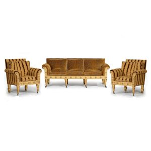 Regency sofa bergeres NEW